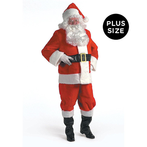 10. Halco XXX-Large Santa Suit for Men
