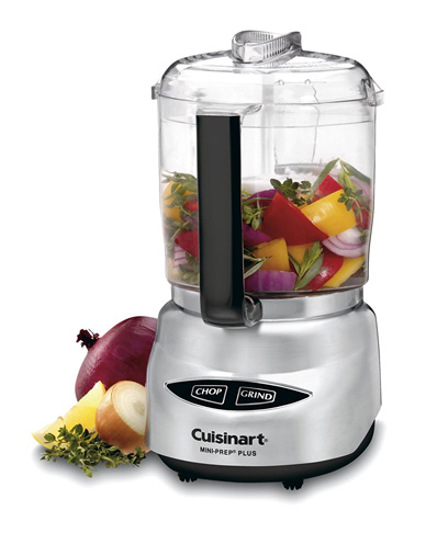 3. Cuisinart 4-Cup Food Processor (DLC-4CHB)