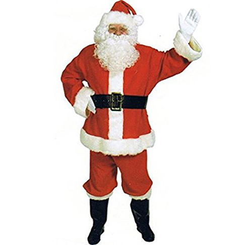 7. Halco Santa Suit Adult Costume - Preferred