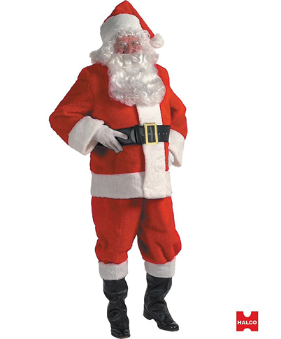 2. Halco Holidays Santa Claus Christmas Suit