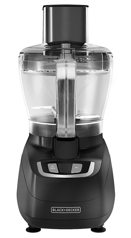 5. BLACK+DECKER FP1600B Black 8-Cup Food Processor