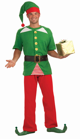 5. Forum Novelties Men's Jolly Elf Kit