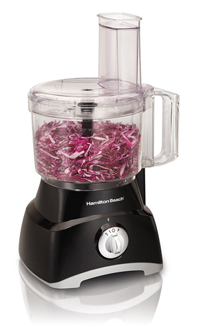2. Hamilton Beach 8-Cup Food Processor (70740) - Preferred