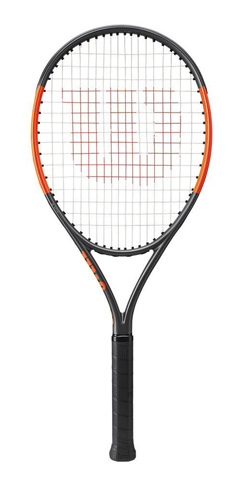 9. Wilson Junior Burn Tennis Racquet - Preferred