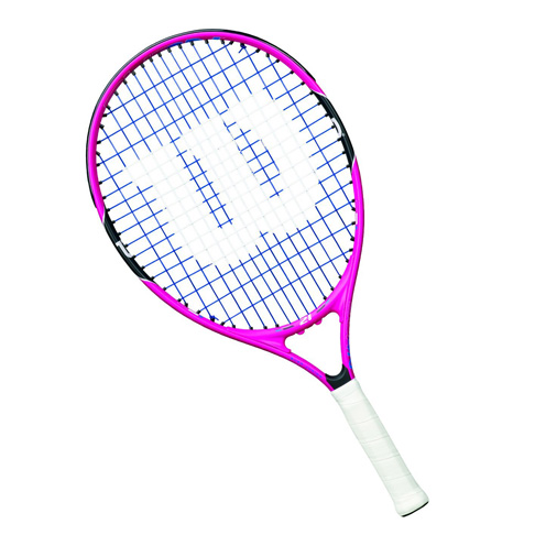 10. Wilson Junior Burn Pink Tennis Racquet - Preferred
