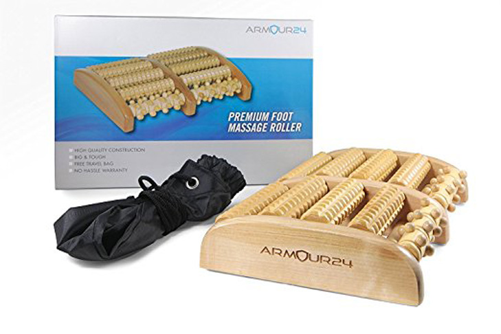 8. Armour 24 Large Dual Foot Massager Roller