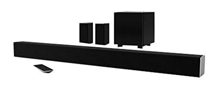 "6. VIZIO SB3851-D0 38"" 5.1 Sound Bar System - Preferred"