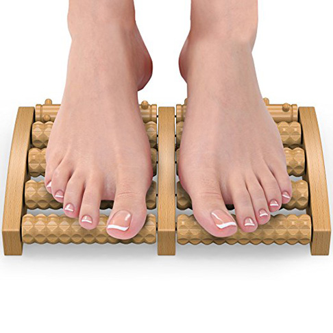 4. Gideon Dual Foot Massager and Roller