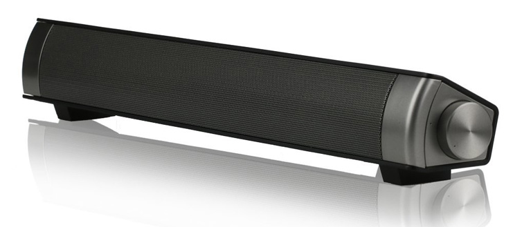 5. ASIYUN Black 10W Wired and Wireless Soundbar - Preferred