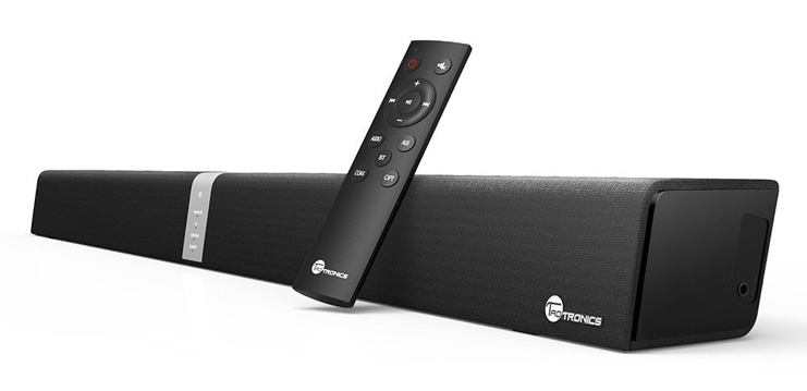 1. TaoTronics 34-Inch Speaker Sound Bar