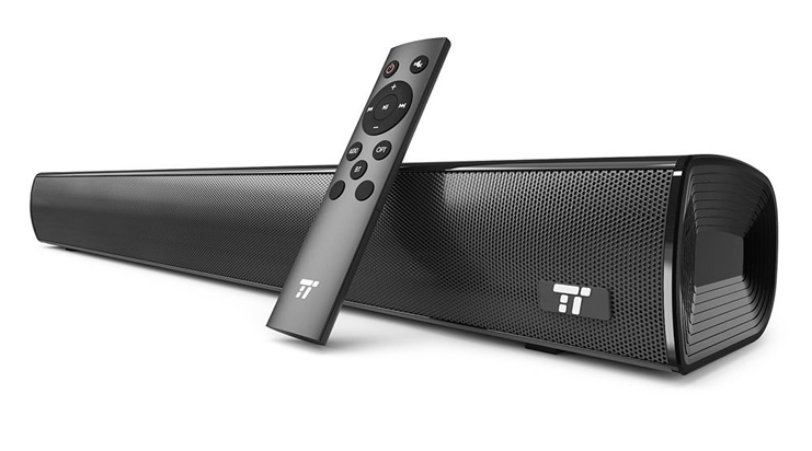 9. TaoTronics 21-Inch Wired and Wireless Soundbar - Preferred
