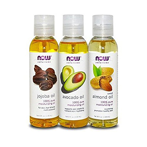 4. Now Foods Variety Moisturizing Oils Sampler