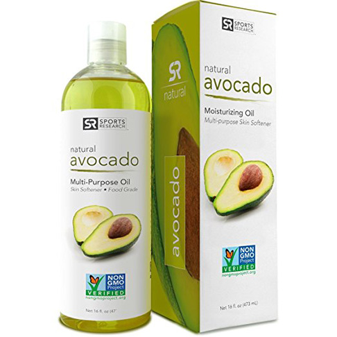 9. Sports Research Pure Avocado Oil (16 oz)