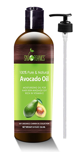 6. Sky Organics 100% Pure Avocado Oil