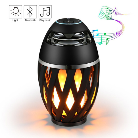 2. ELEGIANT Black Led Flame Speaker - Preferred