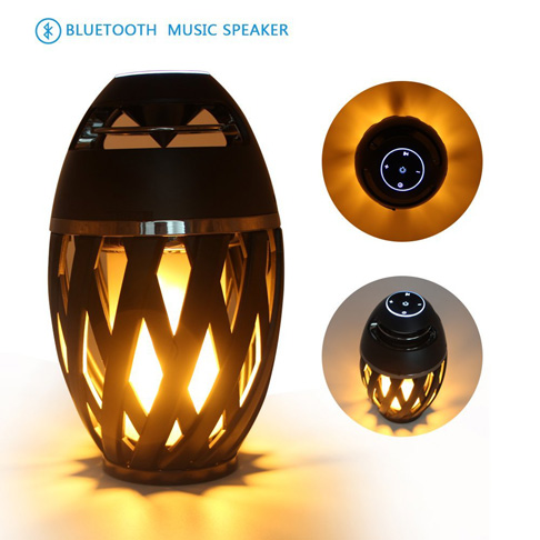 5. LEDMEI Warm Light Led Lamp Speaker - Preferred