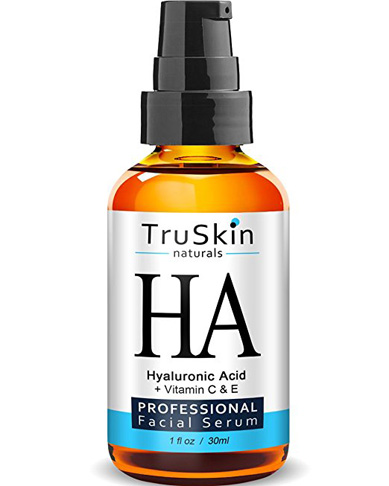 3. TruSkin Naturals Hyaluronic Acid Serum - Preferred