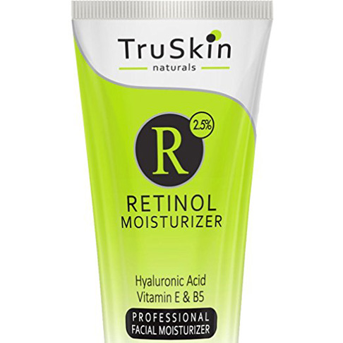 5. TruSkin Naturals RETINOL Cream Moisturizer - Preferred