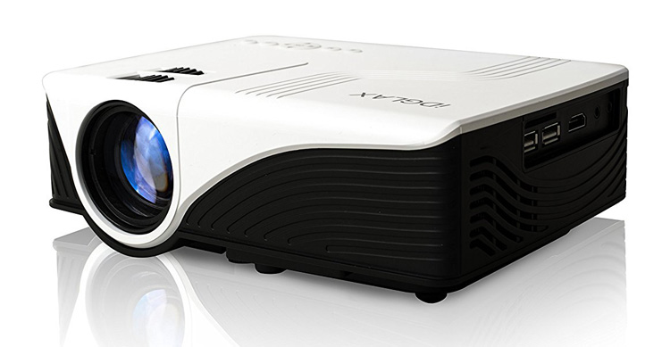 1. iDGLAX iDG-787W LCD LED Mini Portable Projector
