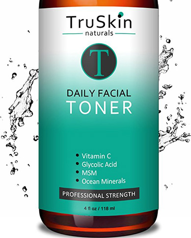 8. TruSkin Naturals Daily Facial Toner for All Skin Types