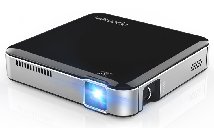 4. APEMAN Mini Video Projector - Preferred