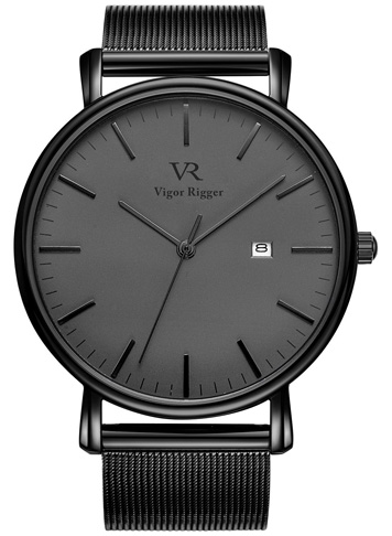 3. BUREI Men's Fashion Minimalist Wrist Watch