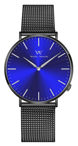10. Welly Merck Men's Luxury Minimalist Watch - Preferred