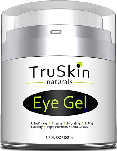 9. TruSkin Naturals Eye Cream Moisturizer Serum (1.7 fl oz)
