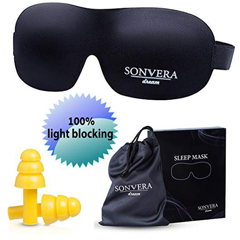10. Sonvera Sleep Mask