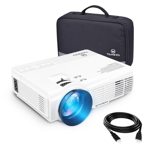 2. vankyo LEISURE LED Projector with Carrying Bag - Preferred