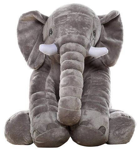 1. MishionMorisMos Stuffed Elephant Plush Toy
