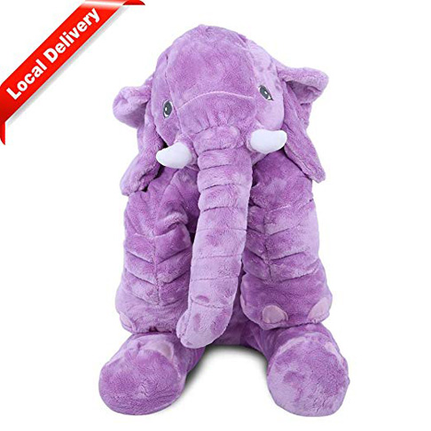 5. KidsTime Children's Elephant Pillow