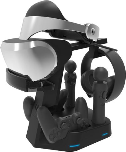 1. Collective Minds PSVR Showcase VR Charge & Display Stand