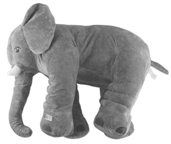 3. GRIFIL ZERO Elephant Plush Pillow