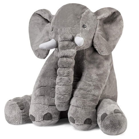 7. Tplay Giant Elephant Plush