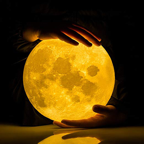 2. GPJOY Extra Large 3D Moon Lamp