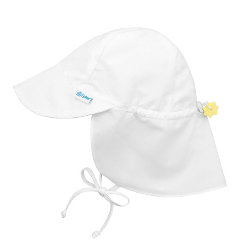 1. i play. Flap Sun Protection Swim Hat (Baby Boys') - Preferred