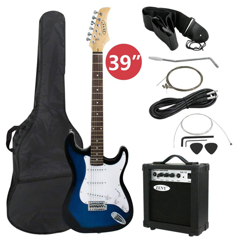 "6. ZENY 39"" Full Size Electric Guitar with Amp - Preferred"
