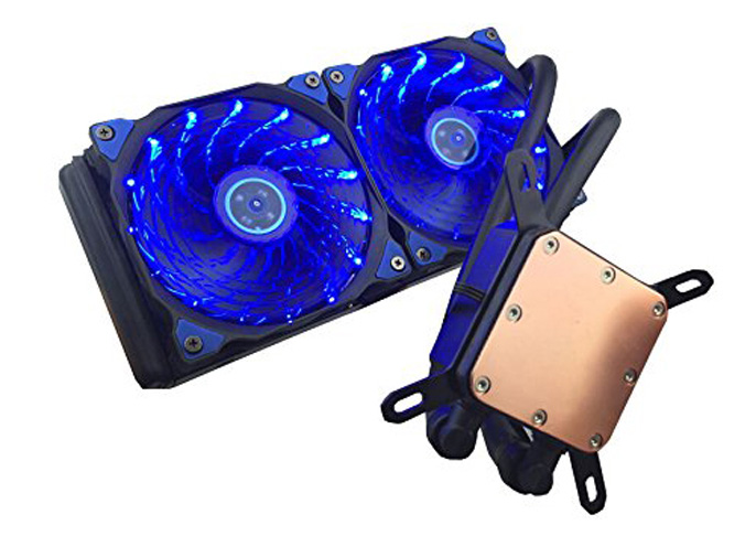 9. upHere All-in-One Liquid CPU Cooler