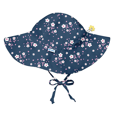 4. i play. Baby Girls' Brim Sun Protection Hat