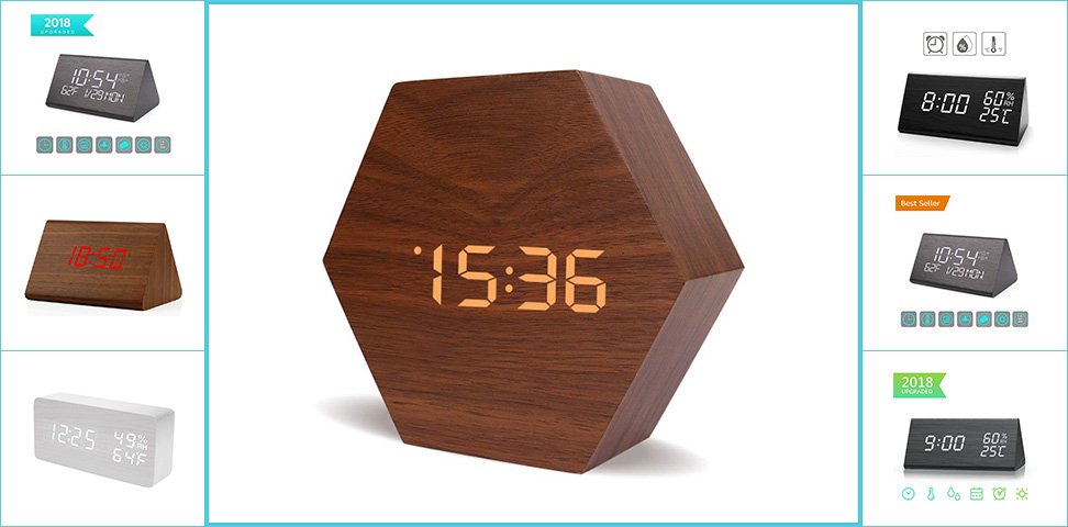 Top 10 Best Wooden Alarm Clock Reviews In 2020 Top Most Reviews