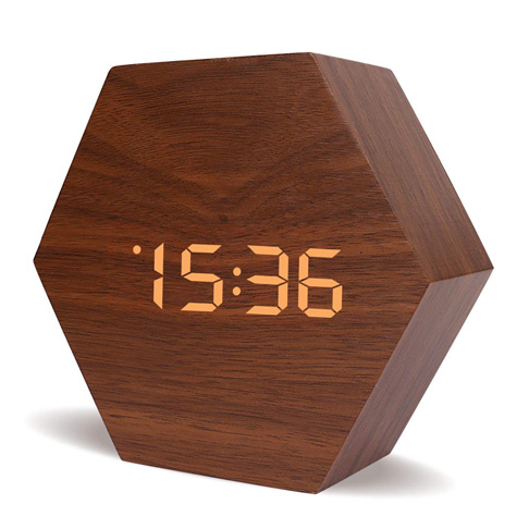 1. Warmhoming New Style Wooden Clock