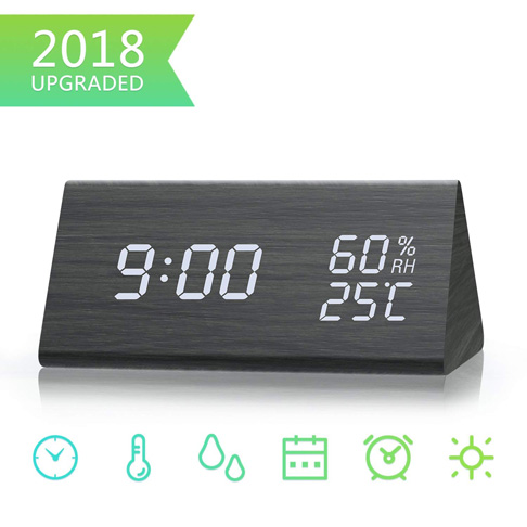 5. Lyker Digital Alarm Clock - Preferred