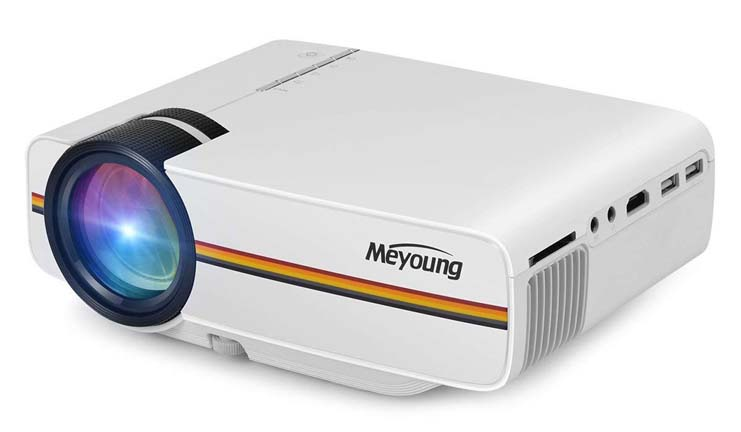 2. Meyoung TC80 LED Mini Projector