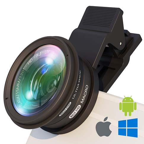 3. BullyEyes Phone Lens Attachment