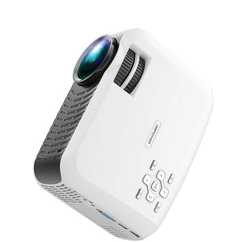 5. DBPOWER 120 ANSI Portable LCD Projector