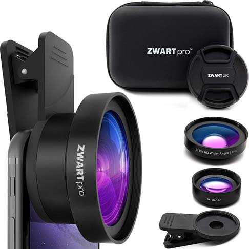 7. ZWARTpro Cell Phone Lens Attachment