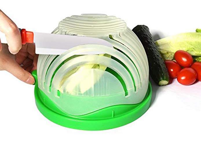 6. Super Supplies Salad Cutter Bowl