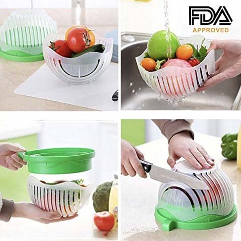 8. B-FAR Salad Cutter Bowl - Preferred