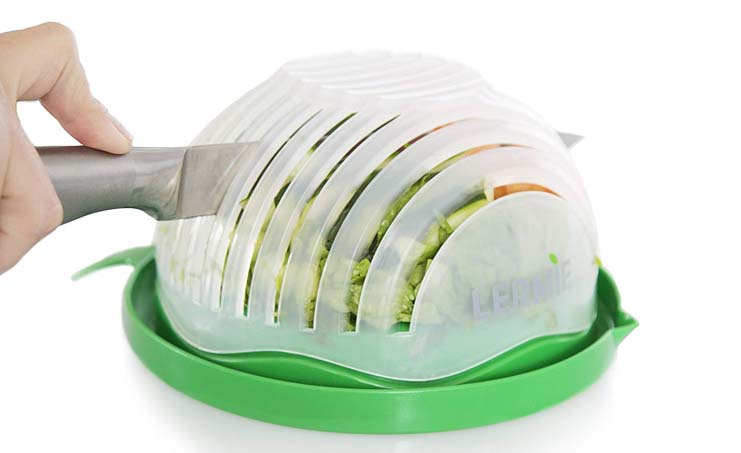 9. Lermie Salad Cutter Bowl - Preferred